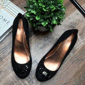 BCB Generation • Sz 7B Black Wedge Heels